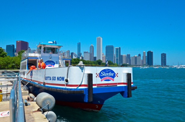 Chicago Apartments, Sightseeing, Water Taxi