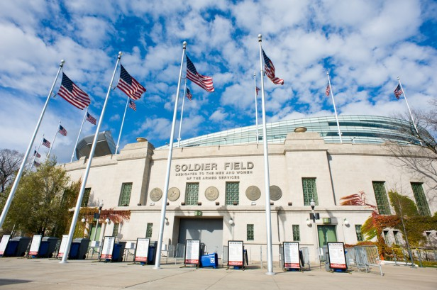 Chicago Apartments, Sightseeing, Soldier Field