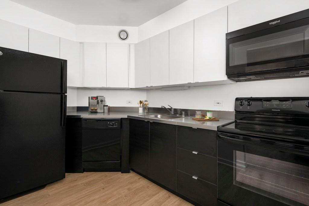 1111 N Dearborn Chicago Apartment Kitchen Interior 2