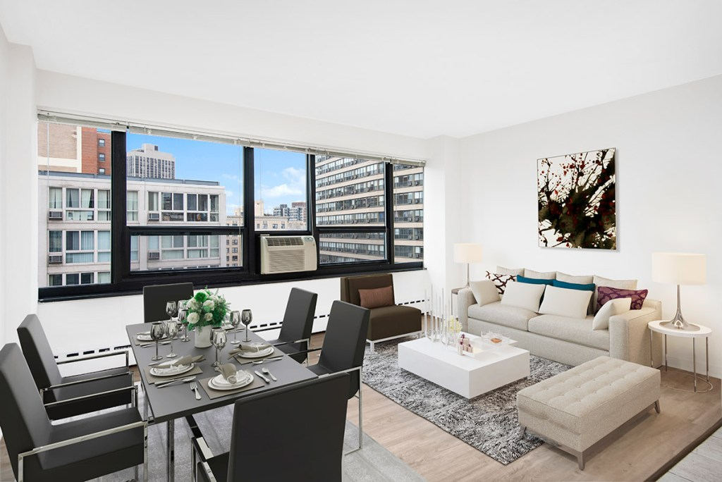 Chicago Apartments, Lakeview, 350 W Oakdale One Bedroom