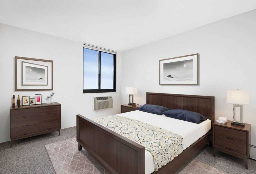 1330 N Dearborn Bedroom Interior Chicago Apartments Gold Coast - 1