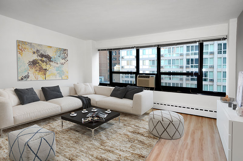 Chicago Apartments, Lakeview, 350 W Oakdale Living Room