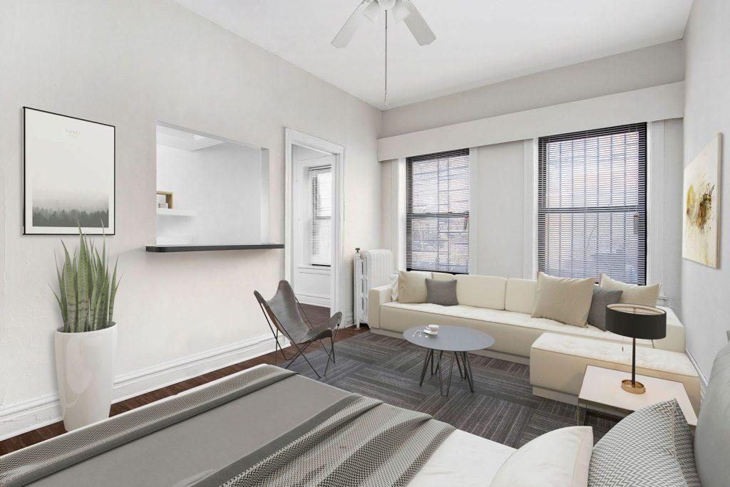 Chicago Apartments, Lincoln Park, 430 W Diversey Studio