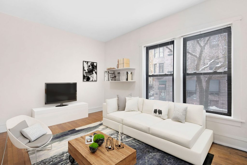 Chicago Apartments, Lincoln Park, 446 W Diversey Living Room