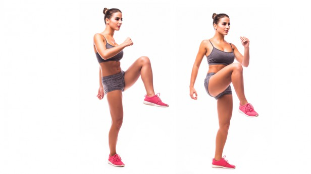 Chicago Apartments, At-Home Cardio Workouts, High Knees
