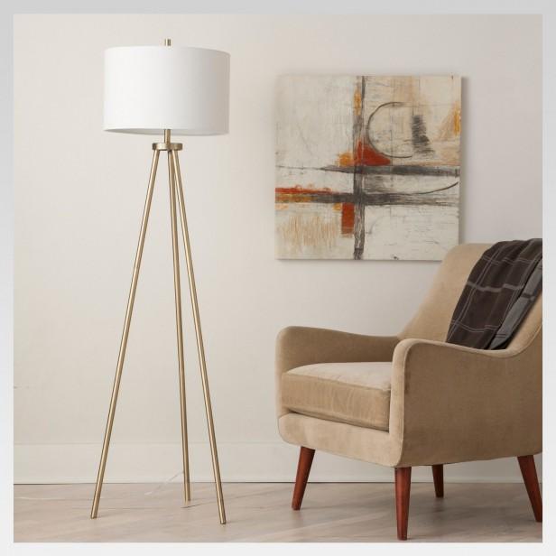 Chicago Apartments, Target Home Decor, Ellis Tripod Floor Lamp