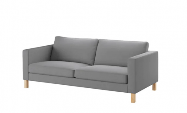 Chicago Apartments, Inexpensive Sofas, IKEA Karlstad Sofa