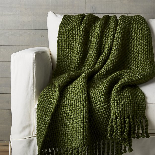 Chicago Apartments, Warm Blankets, Crate & Barrel, Cozy Weave Throw Pillow