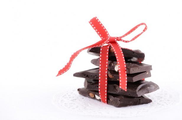 Chicago Apartments, Chocolate Almond Bark Recipe