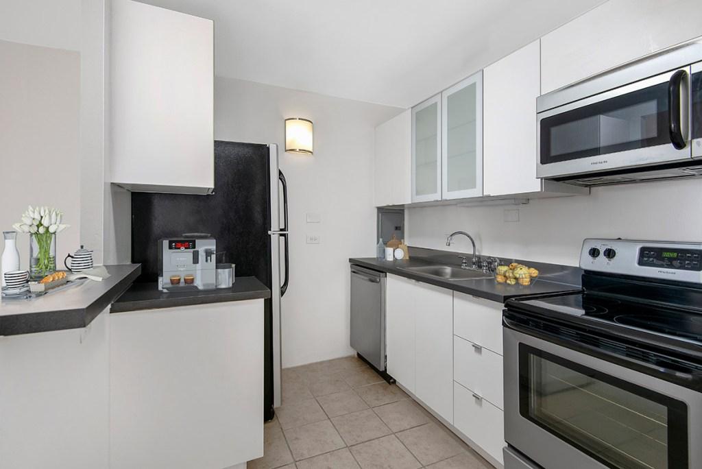 55 W Chestnut Kitchen Interior Chicago Apartments River North - 2