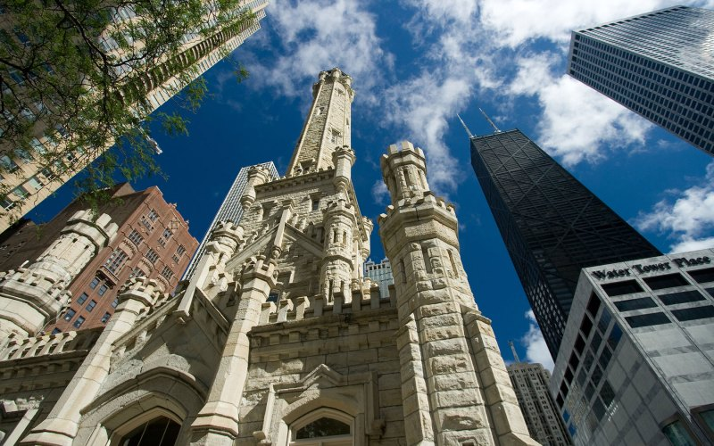 Chicago Apartments, Gold Coast, Chicago Water Tower