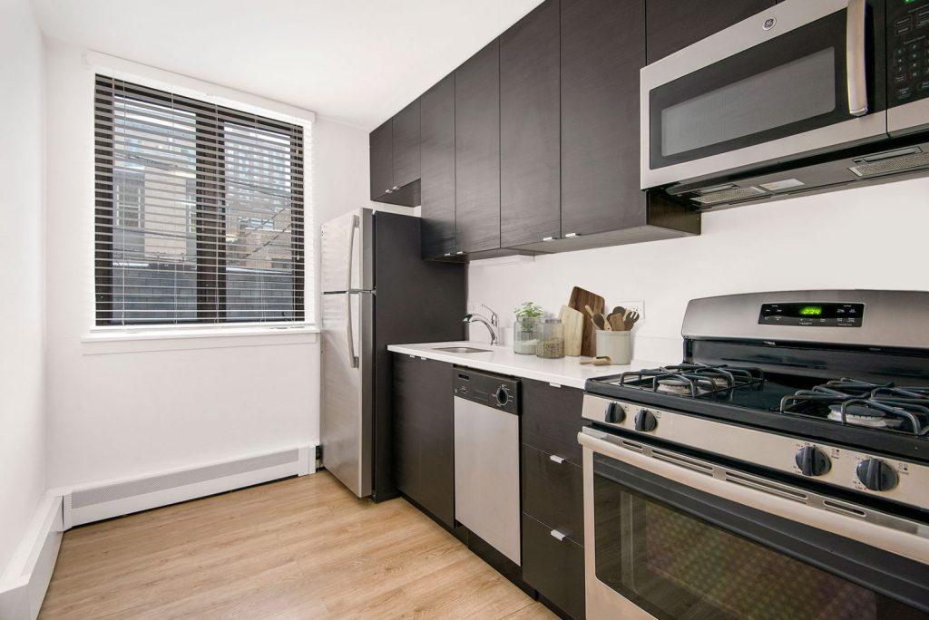 20 E Scott Kitchen Interior Chicago Apartments Gold Coast - 1