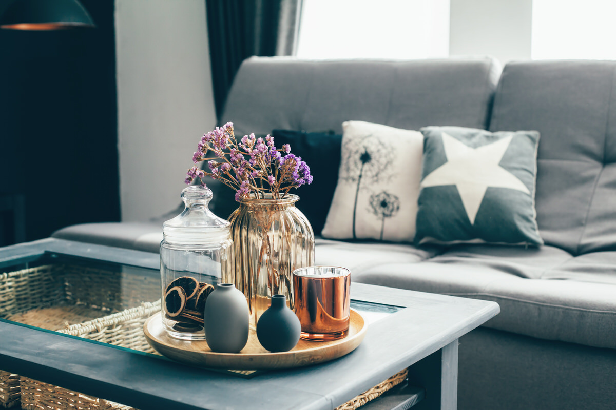 Chicago Apartments, Coffee Table Styling Tips