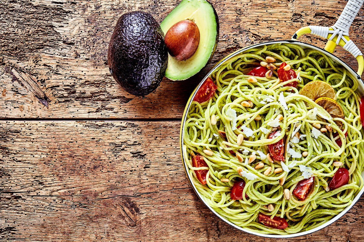 Chicago Apartments, Vegetarian Summer Recipes, Avocado Pasta Recipe
