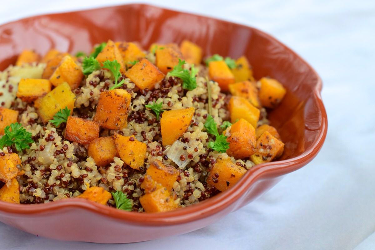 Meal Prep Ideas, Chicago Apartments, Butternut Squash Quinoa