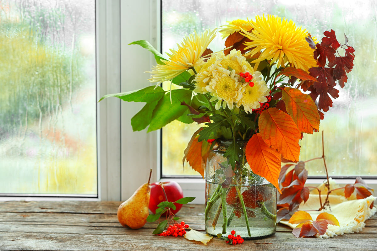 Floral Arranging tips for fall