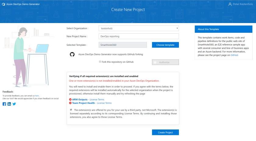 DevOps] Demo generator - Modern Work Blog - Project Online