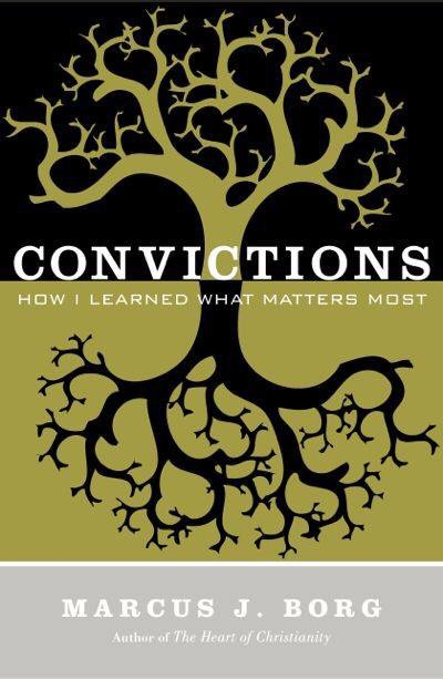 """Book Study: """"Convictions"""" by Marcus J. Borg"""