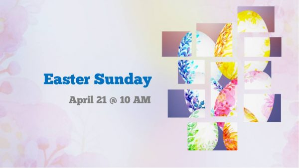 """10:00 AM Easter Sunday Service at PPMCC.  """"Draw the Circle Wide:  Ripples of New Beginnings"""""""