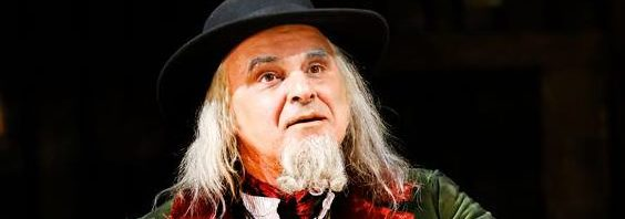 Fagin in Oliver! at Curve Leicester