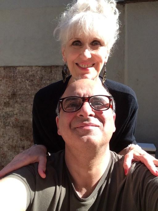 With Anita Dobdon