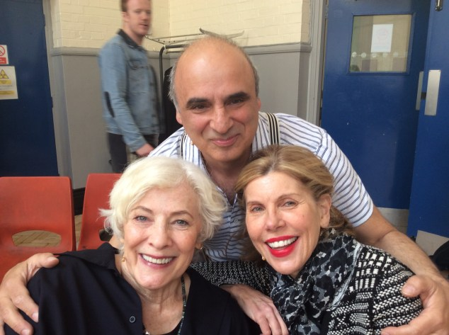 Bette Buckley and Christine Baranski