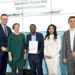 """Award Ceremony """"New Ideas for Global Health"""", Global Health Hub Germany. With Federal Minister Jen Spahn"""
