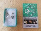 Boucles d'oreilles Pachamama en argent 25€
