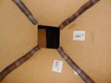 Pose de tissu à l'intérieur pour l'étanchéité (améliorer le flux d'air, éviter l'entrée d'insectes)