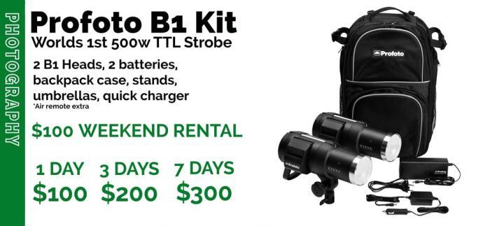 Profoto B1 Air Kit