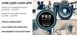 Hassleblad Bron Pro solutions tour