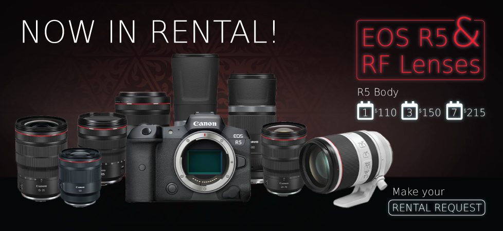 Canon R5 Now In Rental