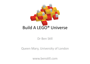 Build A LEGO Universe TAlk