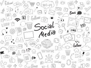 Vector graphics - Social media