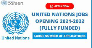 United Nations Jobs Opening 2022