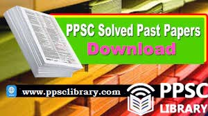 ppsc past papers solved