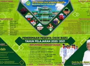 Brosur MTs SUNAN DRAJAT Tahun Ajaran 2020/2021