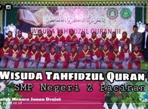 Tahfidz Al-Qur'an SMP N 2 Paciran