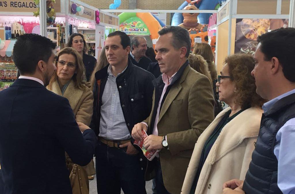 """Juan Bueno  destaca """"el fomento al empleo y a la creación de empresas que brindan los gestores del PP de la provincia"""""""