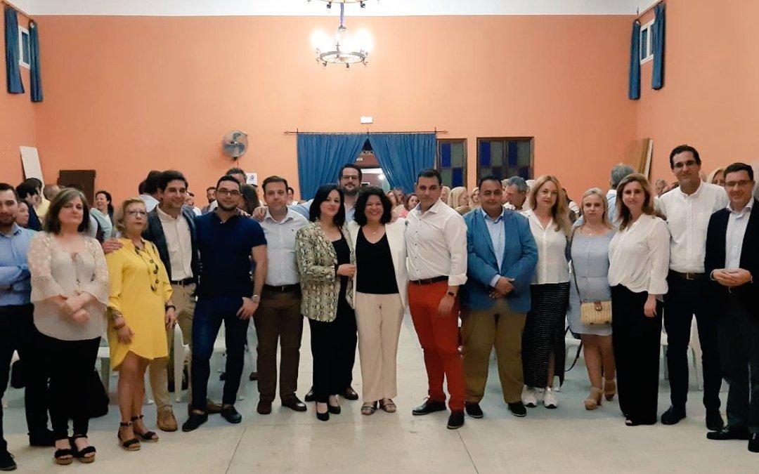 """Virginia Pérez: """"Huévar necesita una alcaldesa a su altura y esa no es otra que María Eugenia Moreno"""""""