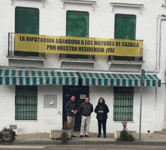 El PP de Sevilla reclama la reapertura de la Residencia de Mayores de Cazalla de la Sierra