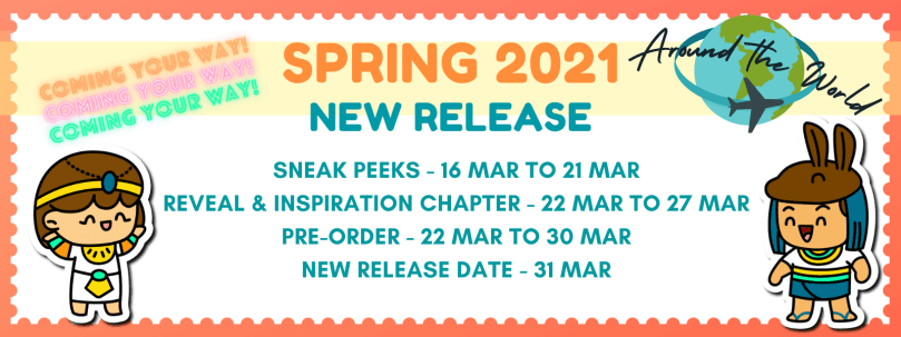 Spring 2021 New Release Schedule