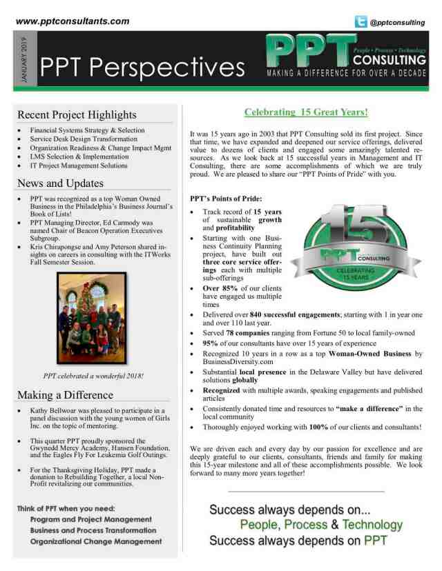 PPT Perspectives January 2019