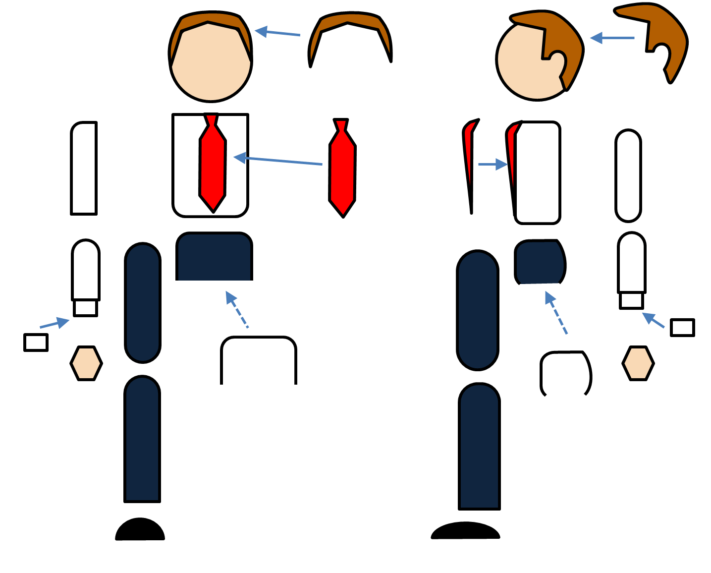 Powerpoint People Characters