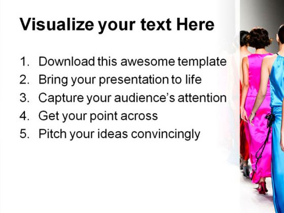 Fashion Powerpoint Templates  background  screenshot for