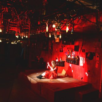 The Lady in Red - Scenic Design by Bryce Cutler