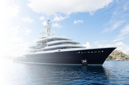 megayacht needing maritime security service