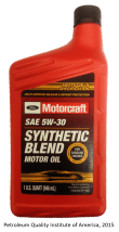 MotorCraft SAE5W30 Front Finished