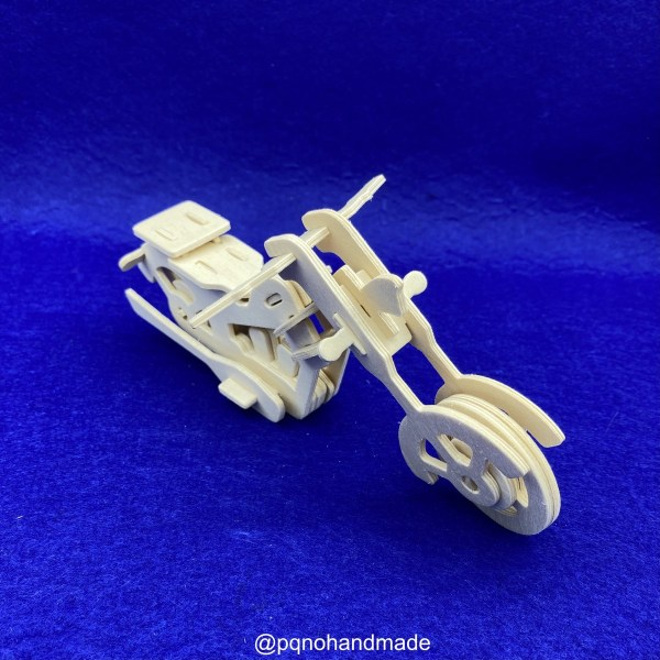 Motocicleta para montar 3D y pintar frontal manualidades