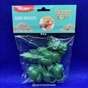 Moldes animales arena Sandy Clay para modelar y jugar manualidades